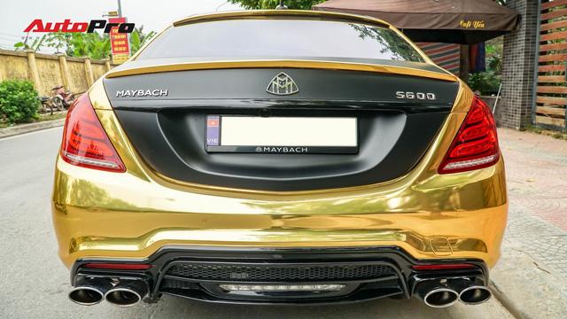 Mercedes-Benz S400 độ phong cách nhà giàu Dubai bất ngờ xuất hiện tại Hà Nội - Ảnh 8.