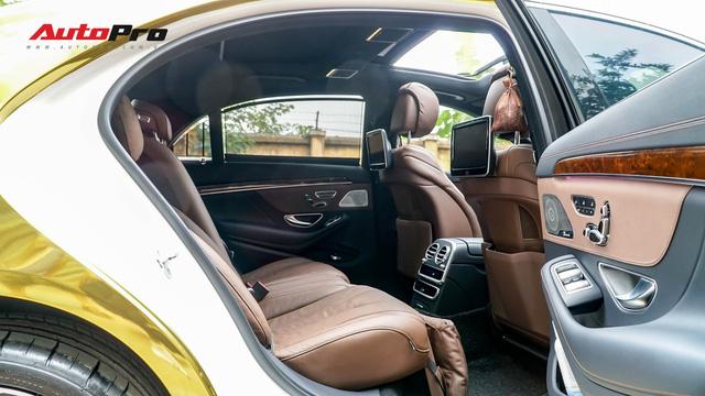 Mercedes-Benz S400 độ phong cách nhà giàu Dubai bất ngờ xuất hiện tại Hà Nội - Ảnh 14.
