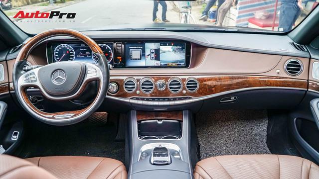 Mercedes-Benz S400 độ phong cách nhà giàu Dubai bất ngờ xuất hiện tại Hà Nội - Ảnh 11.