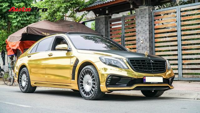 Mercedes-Benz S400 độ phong cách nhà giàu Dubai bất ngờ xuất hiện tại Hà Nội - Ảnh 15.