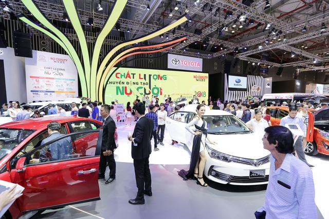 Nhu cầu mua xe lớn, người Việt dành nhiều sự quan tâm cho triển lãm xe trong nước - Ảnh 1.