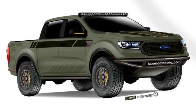 7 bản độ của Ford Ranger dễ khiến dân mê bán tải thêm phát cuồng - Ảnh 3.