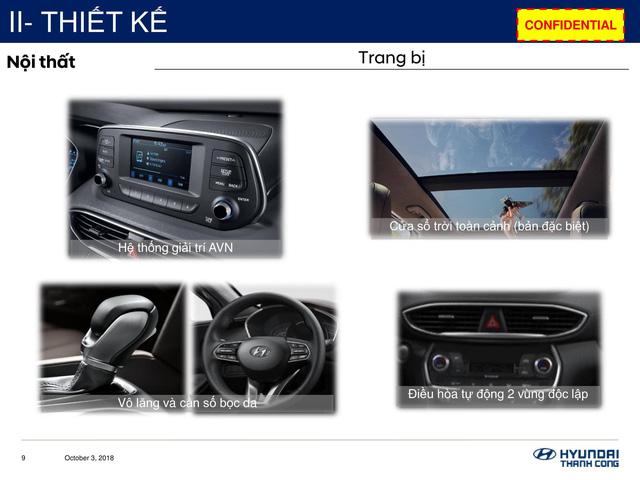 Chi tiết Hyundai Santa Fe 2019 sắp bán ở Việt Nam: Khung cứng hơn, động cơ mạnh hơn, hộp số hoàn toàn mới - Ảnh 5.