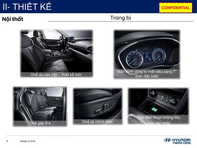 Chi tiết Hyundai Santa Fe 2019 sắp bán ở Việt Nam: Khung cứng hơn, động cơ mạnh hơn, hộp số hoàn toàn mới - Ảnh 4.
