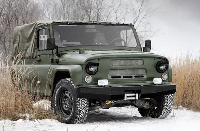 Ngắm xe địa hình quân sự dùng cầu xe Ford Explorer giống hệt UAZ huyền thoại - Ảnh 1.