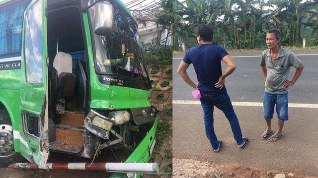 Gây tai nạn, tài xế bỏ ghế lái, hành khách lớn tuổi nhảy lên ôm vô-lăng cứu 30 mạng người