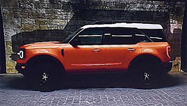SUV cỡ nhỏ hoàn toàn mới của Ford lộ ảnh chính thức đầu tiên - Ảnh 3.