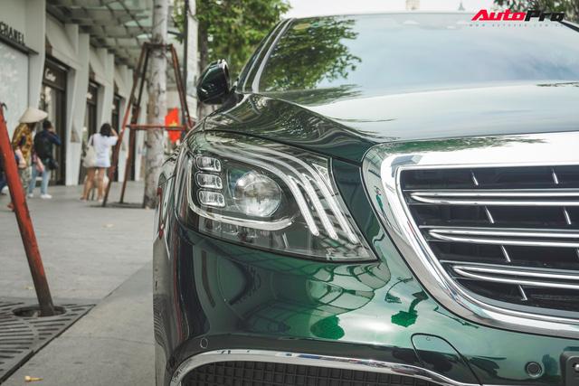 Chiếc Mercedes-Maybach S450 màu xanh diệp lục ngỡ song sinh với xế độc của ca sỹ Bích Phương - Ảnh 5.