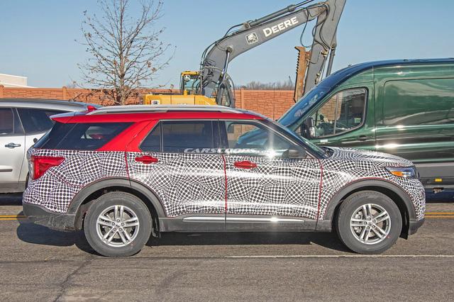 Ford Explorer 2020 lộ mặt với phong cách Toyota Highlander - Ảnh 5.