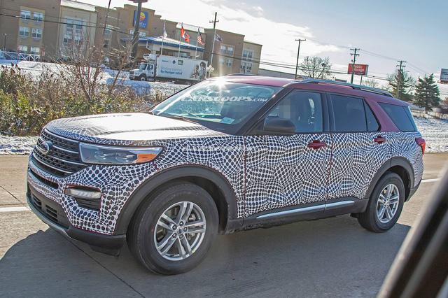 Ford Explorer 2020 lộ mặt với phong cách Toyota Highlander - Ảnh 4.
