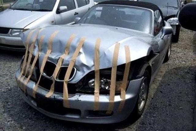 Dùng băng dính để chữa ô tô - Tưởng không được mà được không tưởng! - Ảnh 7.