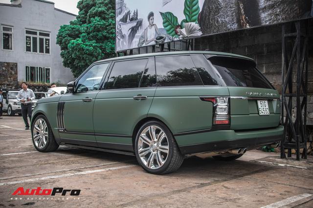 Khám phá Range Rover SVAutobiography LWB chuyên chở khách VIP của ông chủ cafe Trung Nguyên - Ảnh 4.