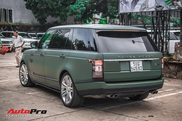 Khám phá Range Rover SVAutobiography LWB chuyên chở khách VIP của ông chủ cafe Trung Nguyên - Ảnh 14.