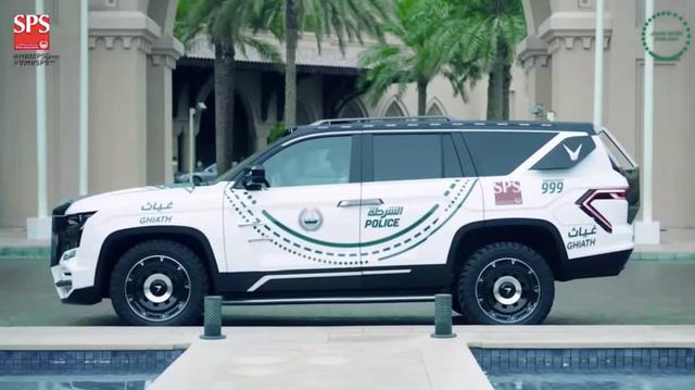 SUV siêu hiện đại mang tên Giath của cảnh sát Dubai - Ảnh 1.