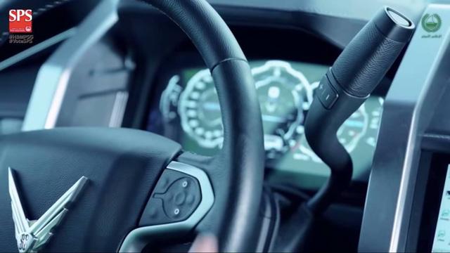 SUV siêu hiện đại mang tên Giath của cảnh sát Dubai - Ảnh 3.