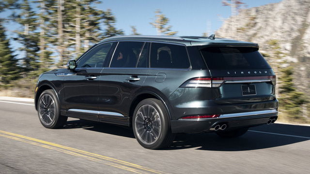 Lincoln Aviator – SUV sang chung khung gầm Ford Explorer cạnh tranh Audi Q7, Volvo XC90 trình diện - Ảnh 4.