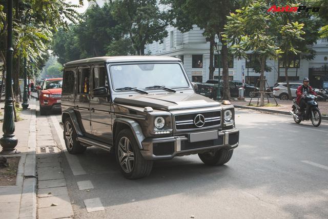 Chán màu sặc sỡ, dân chơi Hà Thành đưa chiếc Mercedes-AMG G63 về màu nguyên bản độc nhất Việt Nam - Ảnh 2.