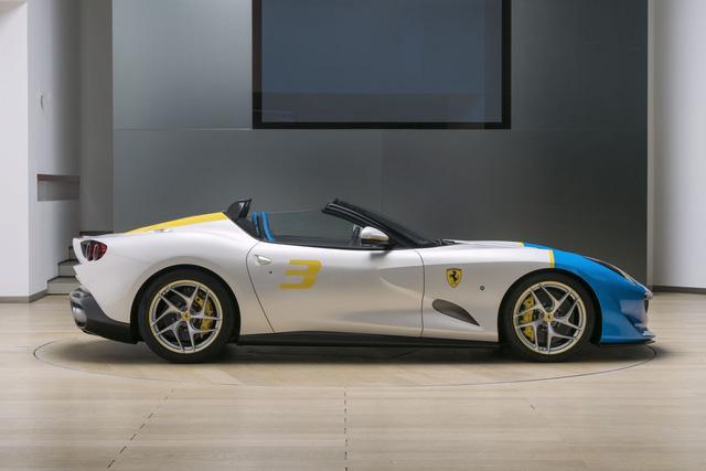 Ferrari trình làng phiên bản SPCJ3 độc nhất vô nhị cho khách VIP - Ảnh 2.