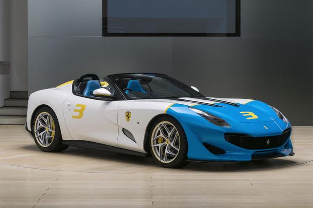 Ferrari trình làng phiên bản SPCJ3 độc nhất vô nhị cho khách VIP - Ảnh 1.
