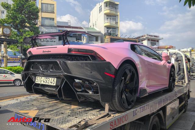 Lamborghini Huracan màu hồng nữ tính của đại gia Bạc Liêu - Ảnh 3.