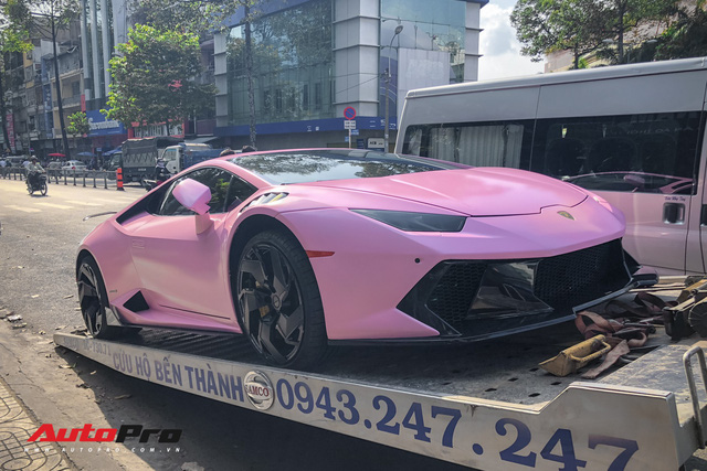 Lamborghini Huracan màu hồng nữ tính của đại gia Bạc Liêu - Ảnh 11.