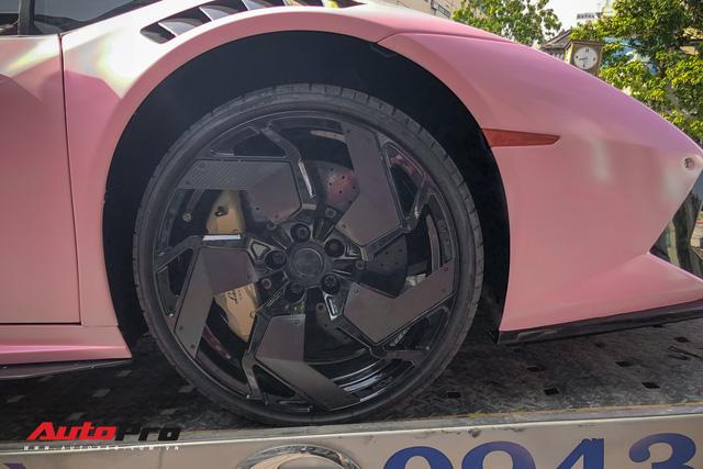Lamborghini Huracan màu hồng nữ tính của đại gia Bạc Liêu - Ảnh 4.
