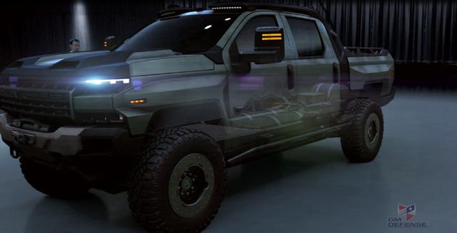 Quái vật bán tải Chevrolet Silverado ZH2 thách thức mọi địa hình - Ảnh 10.