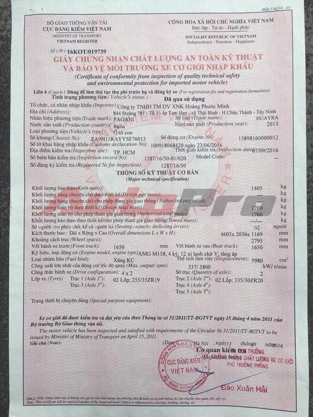 Lộ giá thật siêu xe Pagani Huayra của Minh nhựa: Khác xa con số 78 tỷ đồng - Ảnh 4.