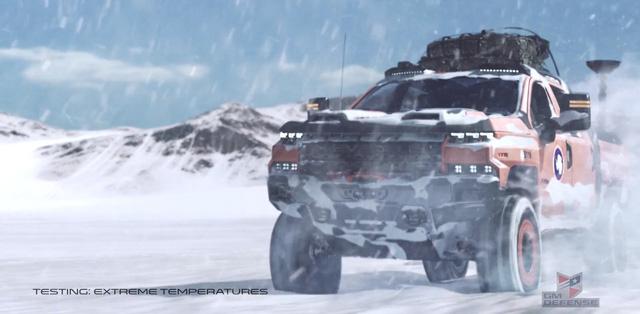 Quái vật bán tải Chevrolet Silverado ZH2 thách thức mọi địa hình - Ảnh 2.