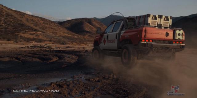 Quái vật bán tải Chevrolet Silverado ZH2 thách thức mọi địa hình - Ảnh 4.