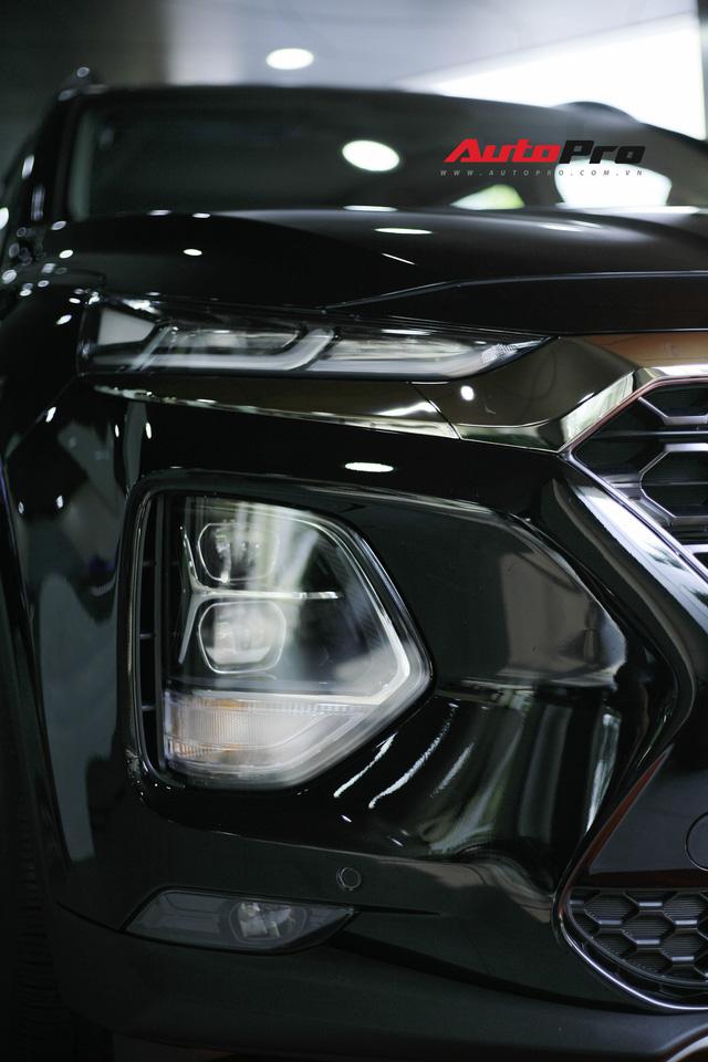 Chi tiết Hyundai Santa Fe 2019 bản cao nhất với giá dự kiến 1,3 tỷ đồng tại đại lý - Ảnh 6.