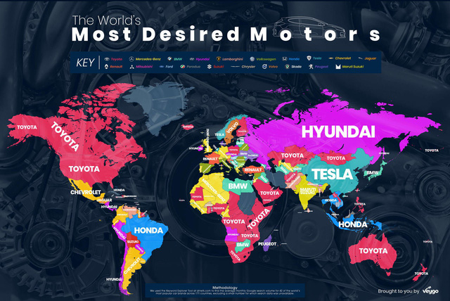 Không phải Toyota, Honda mới là hãng xe được tìm kiếm nhiều nhất tại Việt Nam - Ảnh 1.