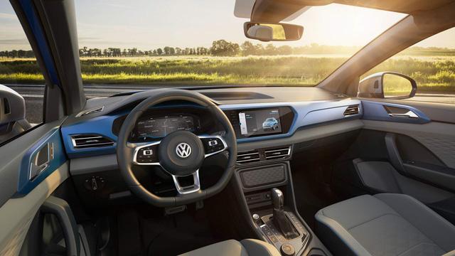 Ra mắt Volkswagen Tarok - Bán tải đẹp và xịn tới mức khó chê - Ảnh 5.