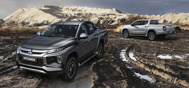 Mitsubishi Triton 2019 lột xác theo phong cách Xpander, sắp về Việt Nam  - Ảnh 6.