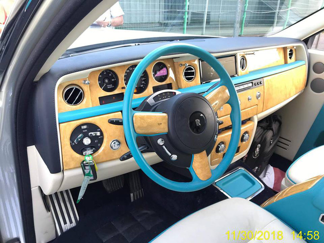 Rolls-Royce Phantom Series II sở hữu nội thất như của dân chơi Ả Rập về Việt Nam - Ảnh 1.