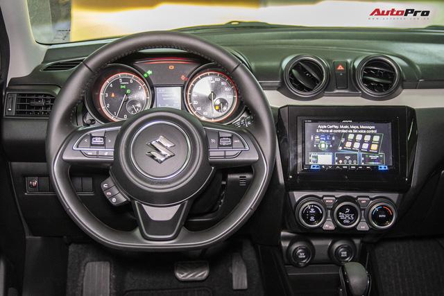 Suzuki Swift thế hệ mới ra mắt với giá từ 499 triệu đồng, cạnh tranh Mazda2 - Ảnh 4.