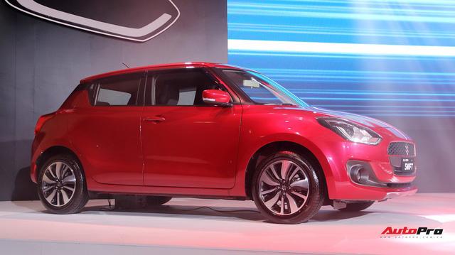Suzuki Swift thế hệ mới ra mắt với giá từ 499 triệu đồng, cạnh tranh Mazda2