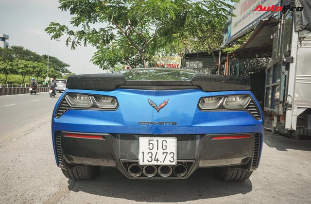 Chevrolet Corvette Z06 độc nhất Việt Nam của đại gia bitcoin - Ảnh 9.