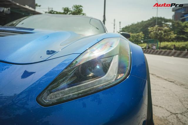 Chevrolet Corvette Z06 độc nhất Việt Nam của đại gia bitcoin - Ảnh 3.