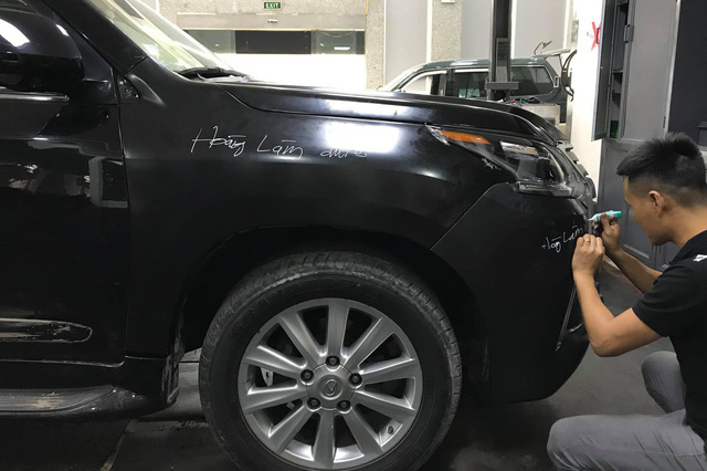 15 ngày lột xác Lexus LX570 2008 thành 2018 với 450 triệu đồng của dân chơi Việt - Ảnh 11.