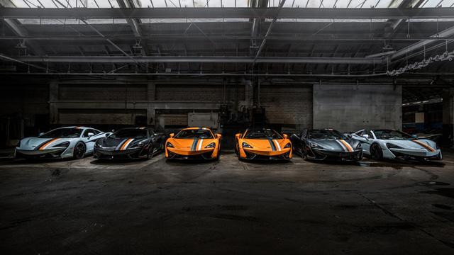 McLaren tung bộ sưu tập 6 chiếc 570S cùng lúc - Ảnh 1.