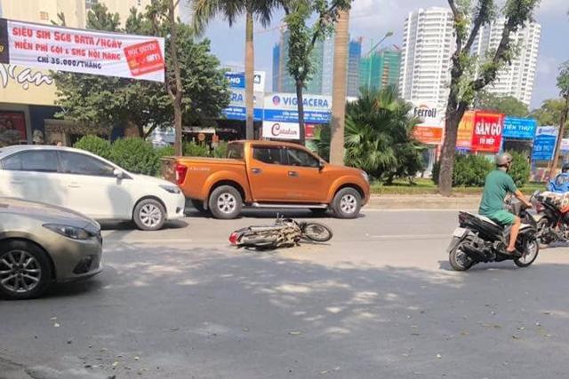 Thanh niên 15 tuổi trộm Hyundai Accent của bố đi chơi gây tai nạn liên hoàn tại Hà Nội - Ảnh 2.