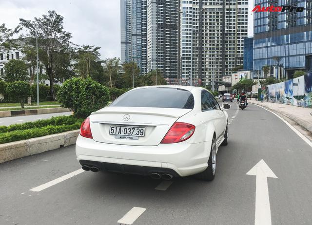 Bắt gặp Mercedes-AMG CL63 độc nhất Việt Nam thuộc sở hữu của đại gia cà phê - Ảnh 7.