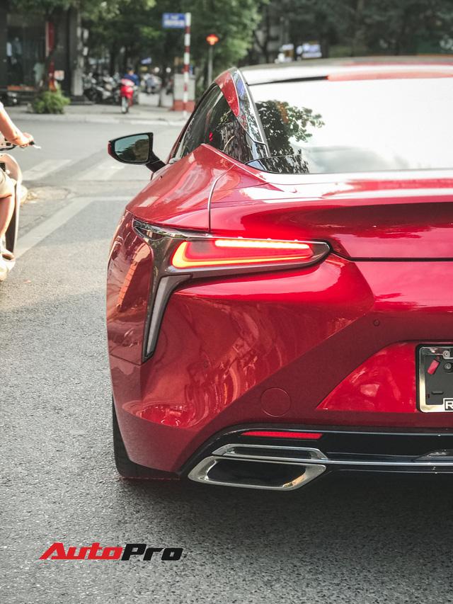 Lexus LC500 màu đỏ độc nhất Việt Nam tái xuất tại Hà Nội - Ảnh 8.