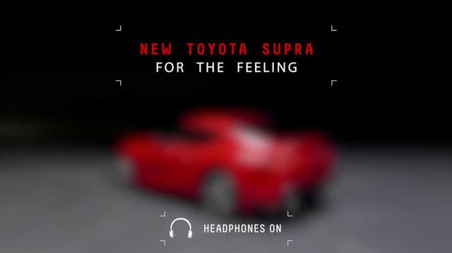 """Toyota Supra """"vỏ Nhật, lõi Đức"""" hé lộ trailer mới trêu ngươi người xem"""