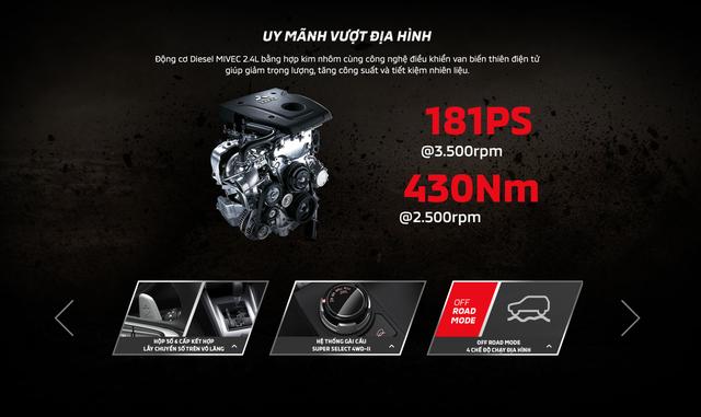 Mitsubishi tiết lộ cấu hình Triton 2019 tại Việt Nam trước ngày ra mắt: Cắt giảm nhiều tính năng an toàn - Ảnh 3.