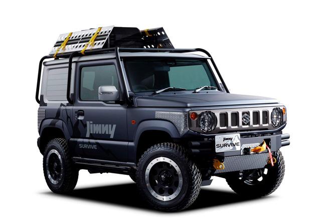 Hàng hot Suzuki Jimny - tiểu G-Class có thêm phiên bản bán tải - Ảnh 1.
