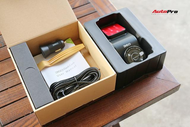 Trên tay camera hành hình Qihoo 360 G300 có thiết kế độc nhất vô nhị tại Việt Nam - Ảnh 4.