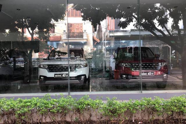 BAIC Q7 - SUV Trung Quốc thiết kế như <a class=