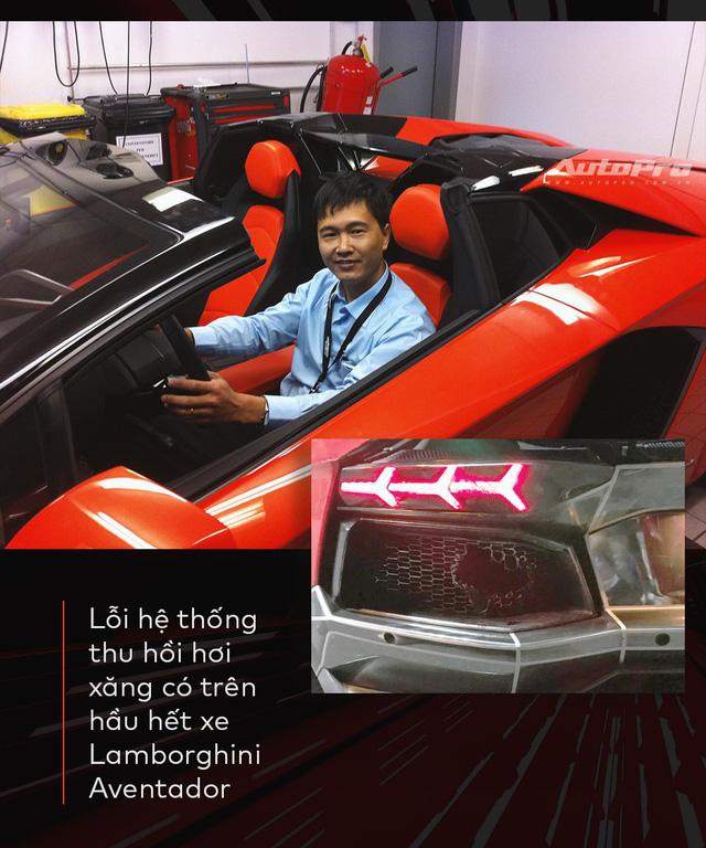 Vì sao Lamborghini Aventador cháy đuôi khi nẹt pô ăn mừng đội tuyển Việt Nam chiến thắng? - Ảnh 1.